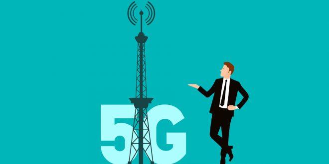 illustration de la 5g mobile