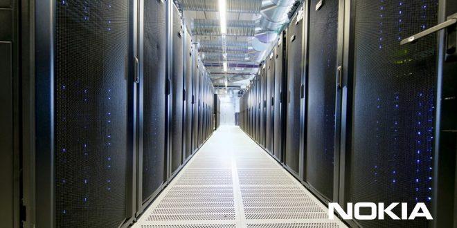 photo d'un data center de nokia