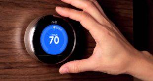 photo d'un thermostat connecte