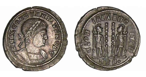 Constantin II le Jeune numismatie